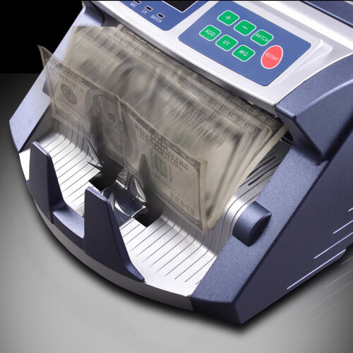 3-AccuBANKER AB 1100 PLUS UV/MG money counter