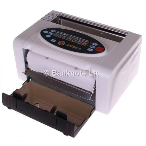 2-Cashtech 340 A UV  money counter