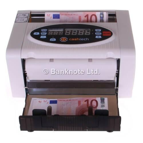 3-Cashtech 340 A UV  money counter