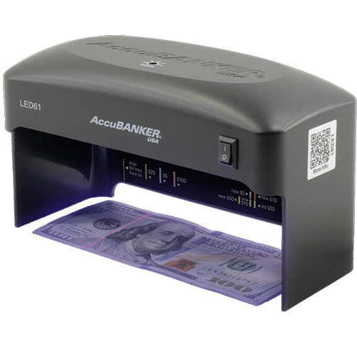 1-AccuBANKER LED61 counterfeit detector