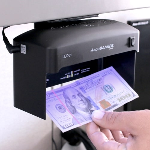 2-AccuBANKER LED61 counterfeit detector