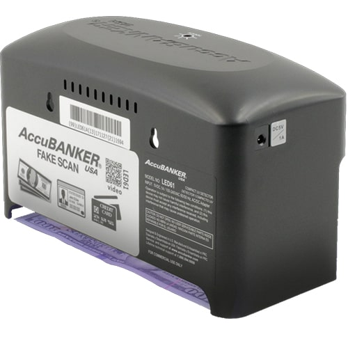 3-AccuBANKER LED61 counterfeit detector
