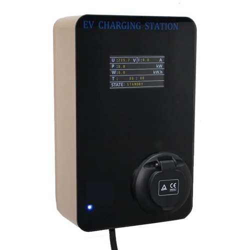 1-Wallbox EV EVSE Type2 22kw EV Charger